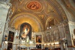 Capela do Notre-Dama-de-Bon-Secours, Montreal foto de stock