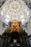 Capela do rosário, igreja de Santo Domingo, Puebla fotografia de stock royalty free