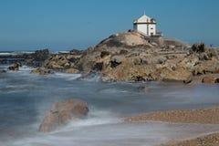 The Capela do Senhor da Pedra by Andre Santiago, Portugal Royalty Free Stock Images