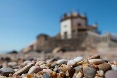 The Capela do Senhor da Pedra by Andre Santiago, Portugal Stock Photo
