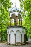 Capela do sepulcro santamente no monte de Petrin Imagens de Stock Royalty Free