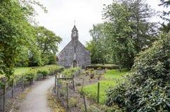 Capela do tapete, Corwen, Denbighshire, Gales Foto de Stock