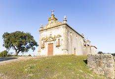 Capela doet de kerk van Calvà ¡ Rio in Amieira do Tejo, Nisa, district van Portalegre, Portugal Royalty-vrije Stock Fotografie