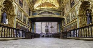 Capela Dourada w Recife, Brazylia fotografia stock