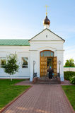 Capela em honra do ícone de nossa senhora, Spaso-Preobrazhensky Monast Foto de Stock