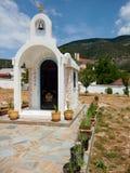 Capela em Kefalonia, Grécia Fotografia de Stock