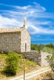 Capela em Le Ventouret Foto de Stock