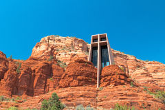 Capela em Sedona Fotos de Stock