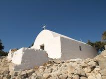 Capela grega tradicional. Imagens de Stock