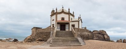 Capela hace Senhor DA Pedra foto de archivo libre de regalías
