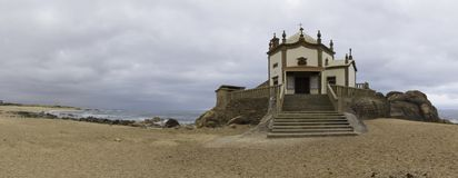 Capela hace Senhor DA Pedra imagen de archivo libre de regalías