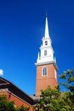 Capela memorável, Universidade de Harvard Imagens de Stock Royalty Free