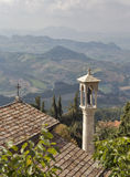 Capela na fortaleza de São Marino Imagem de Stock Royalty Free
