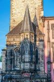 Capela na praça da cidade velha - Praga da câmara municipal imagem de stock