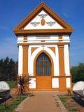 Capela no campo. Capela de Arequito, Argent Fotografia de Stock