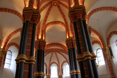 Capela no castelo de Vianden Foto de Stock Royalty Free