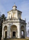 Capela no monte do sacro de varese Imagem de Stock Royalty Free