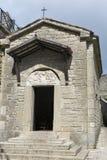 Capela no pátio de Guaita, primeira torre de São Marino Foto de Stock Royalty Free
