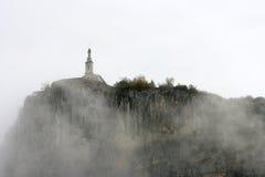 Capela Notre Dame du Roc (Castellane, France) Imagem de Stock Royalty Free