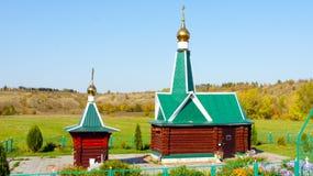 Capela ortodoxo do russo típico Foto de Stock Royalty Free
