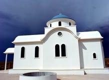 Capela ortodoxo grega Imagem de Stock