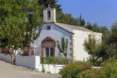 Capela ortodoxo grega em Nippos fotos de stock royalty free