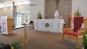 Capela ou agência funerária religiosa para o serviço fúnebre Imagens de Stock Royalty Free