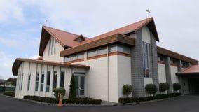 Capela ou agência funerária religiosa para o serviço fúnebre Imagem de Stock