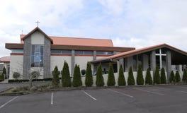 Capela ou agência funerária religiosa para o serviço fúnebre Imagem de Stock Royalty Free