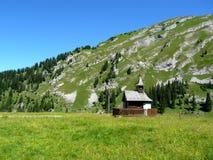 Capela pequena em uma paisagem idílico Imagem de Stock