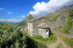Capela Saint-Jean, Switzerland Imagens de Stock