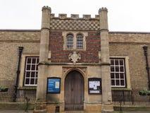 A capela, St Edmunds do enterro fotos de stock