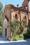 Capela velha do castelo medieval Grazzano Visconti Imagens de Stock Royalty Free