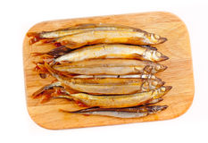 Capelin smoked Royalty Free Stock Photo