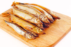 Capelin smoked Stock Photo