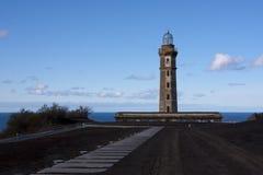 Capelinhos Lighthouse Royalty Free Stock Photo