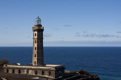 Capelinhos Lighthouse Stock Photo