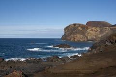 Capelinhos Volcano Stock Images