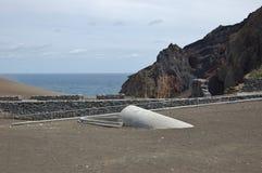 Capelinhos Volcano. Faial island,  Azores, Portugal Stock Images