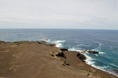 Capelinhos Volcano. Faial island,  Azores, Portugal Stock Photos