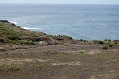 Capelinhos Volcano. Faial island,  Azores, Portugal Royalty Free Stock Photos