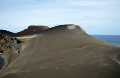 Capelinhos Volcano. Faial island,  Azores, Portugal Royalty Free Stock Images