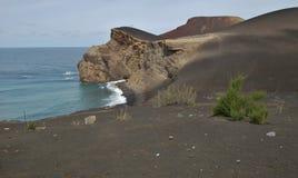 Capelinhos Volcano. Faial island,  Azores, Portugal Stock Photography
