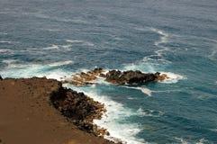 Capelinhos Volcano. Faial island,  Azores, Portugal Stock Image