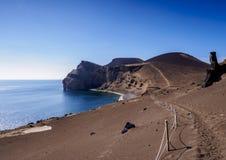 Capelinhos Volcano on Faial Island