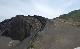 Capelinhos-Vulkan Lizenzfreie Stockbilder