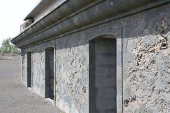 Capelinhos-Vulkan Stockfotos