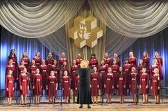 Capella chorus girls. Royalty Free Stock Photography