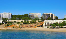 Capellans Beach, Salou, Spain Royalty Free Stock Photography