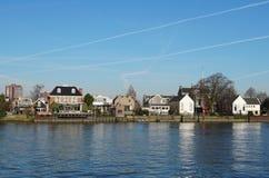 Capelle Aan Den Ijssel, os Países Baixos fotografia de stock royalty free